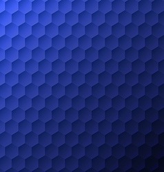 Blue polygon bg vector image