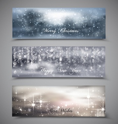 Christmas Banners Set 4 vector