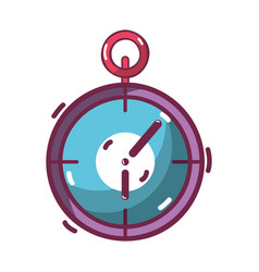 Chronometer to training play games vector