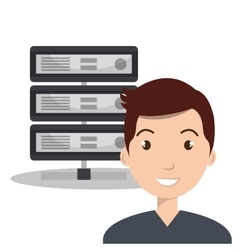 Data host design vector
