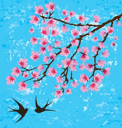 floral branches vector image vector image