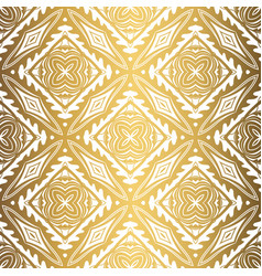 Golden background luxury seamless pattern elegant vector