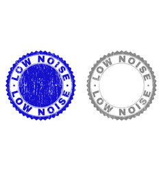 Grunge low noise scratched stamp seals vector