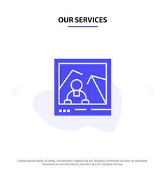 Our services picture image landmark photo solid vector