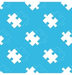 Puzzle match pattern vector