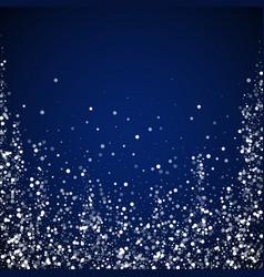 random white dots christmas background subtle fly vector image