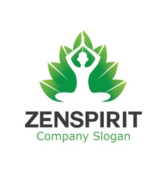 Zen Spa Spirit Design vector image