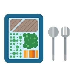 Food box vector image