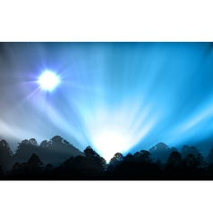 ial of aurora polaris vector image