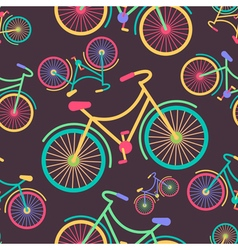 Bicycle Colors 2 vector image vector image