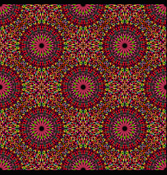 Bohemian geometrical abstract floral pattern vector