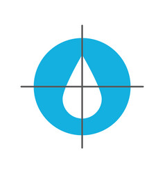 drop blood donation medicine care icon vector image