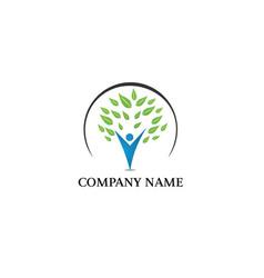 Family logo design vector