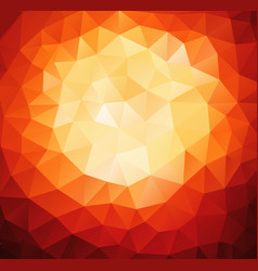 pattern of geometric shapes red background with vector image