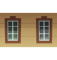 Retro Windows vector image