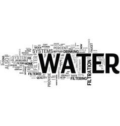 it s not just water under the bridge text vector image