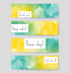 Abstract layout background set for art vector