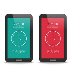 Modern user interface design vector