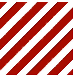 red stripes on white diagonal pattern background vector image