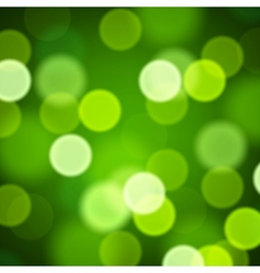 Abstract blurred Saint Patrick Day background vector image vector image