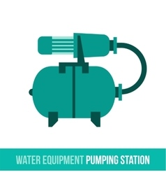 flat icon water equipment vector image vector image