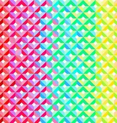 Rainbow Geometric Pattern vector image vector image
