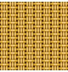 wicker basket weaving pattern seamless texture vector image