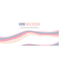 abstract background header website design vector image vector image