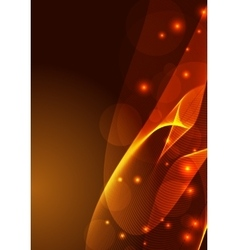 Abstract colorful background smoke wave vector image
