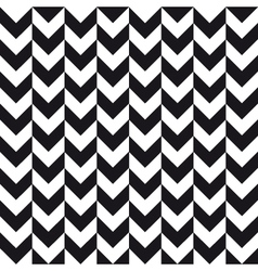 alternate chevron background black white vector image