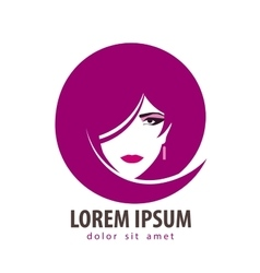 Beauty salon logo design template Spa vector