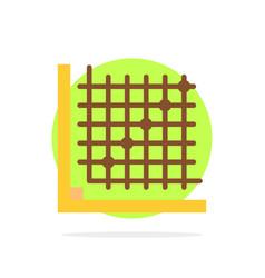 Color correction edit form grid abstract circle vector