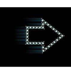 Diamond Arrow vector image