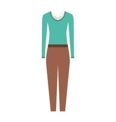 executive woman clothes vector image