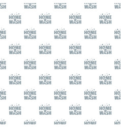 home wash pattern seamless vector image