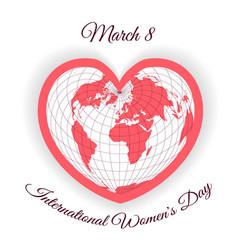 international womens day templates for car vector image