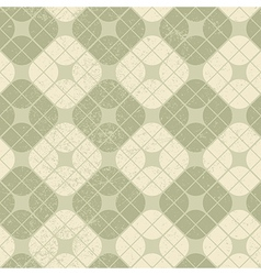 Light vintage squared seamless pattern geometric vector