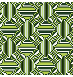 Ornate geometric seamless pattern vector
