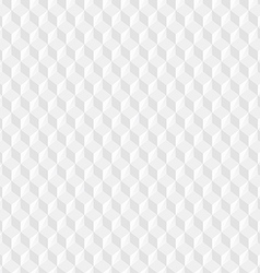 White Cubes Texture vector image