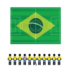 world cup sign color vector image