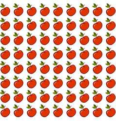 apple wallpaper on white background vector image