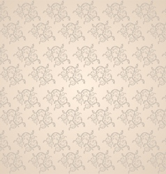 Beautiful vine pattern vector