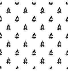 Bonfire pattern vector