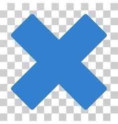 Delete X-Cross Icon vector