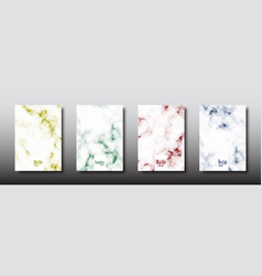 marble texture seamless pattern collection vector image
