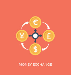 Money exchange vector