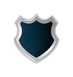 Shield security system icon graphic vector