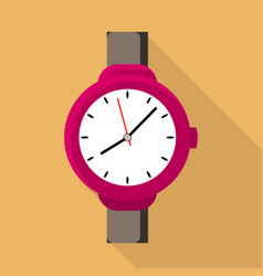 woman watch icon flat style vector image