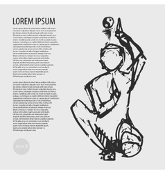 yoga yin and yang posture vector image vector image