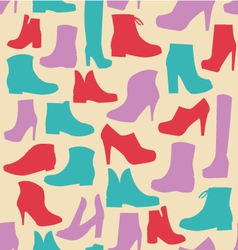Fashion shoes background simplicity vector